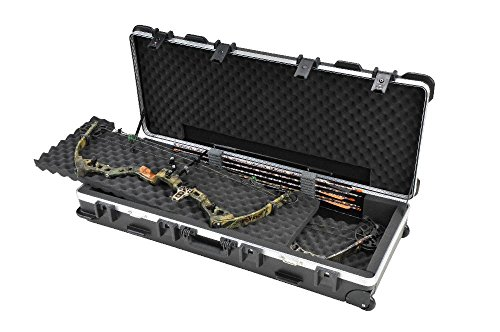 SKB ATA - Maletín de Transporte para Dos Arcos de poleas o Rifles, Color Negro