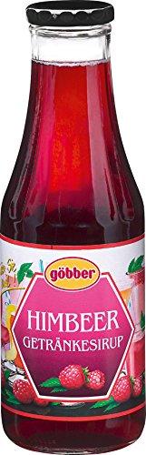 Göbber Himbeer Sirup, 10er Pack (10 x 500 ml)