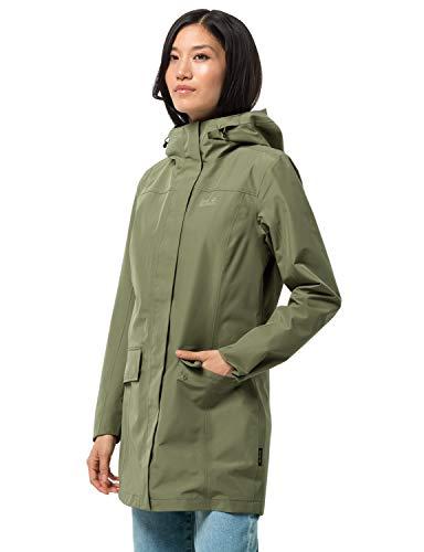 Jack Wolfskin Damen Cape York Paradise Coat W Jacke, Light Moss, XXL EU