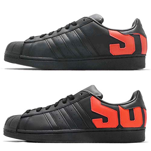 adidas Men's Superstar Trainers Black, 6,5 UK