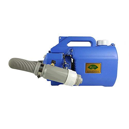 LWJDM 5L Elektrischer ULV Nebelgerät Sprayer Intelligent Ultra Low Capacity Fogger-Luft-Desinfektion Maschine Mosquito Einnebelnmaschine Für Bauernhof, Hotel, Krankenhaus, Schule Im Freien,Blau