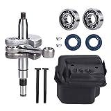 Simlug 【𝐌𝐞𝐫𝐫𝒚 𝐂𝐡𝐫𝐢𝐬𝐭𝐦𝐚𝐬 𝐋𝐨𝒘𝐞𝐬𝐭 𝐏𝐫𝐢𝐜𝐞】 Convenient Chainsaw Crankshaft, High Precision Oil Seal Bearing Kit, Chainsaw Accessory Chainsaw for STIHL for STIHL MS210 230 250