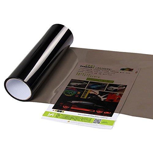 Sedeta® lumière Noire 30CM x 100cm Phare de Voiture Couvre Collage Moteur Lampe lumière Phare antibrouillard Redéfinir Film Protection