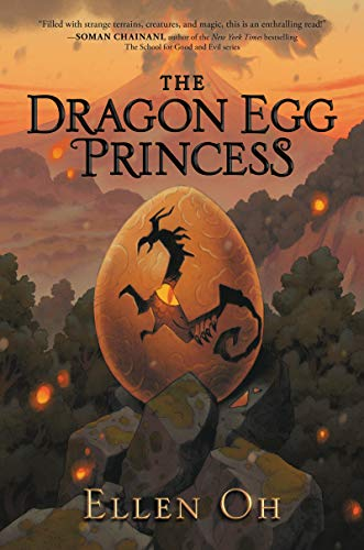 The Dragon Egg Princess by [Ellen Oh]