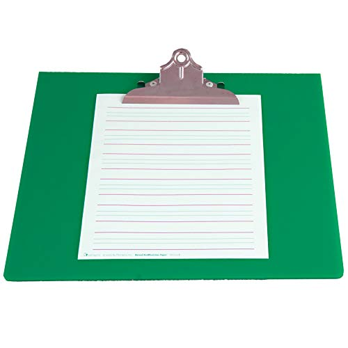 Ergo-Rite Slant Board for Writing - Large Green - Ergonomic Sloped Clipboard Work Surface for Optimal Learning - Angled to 20 Degrees to Reduce The Shoulder and Arm Fatigue