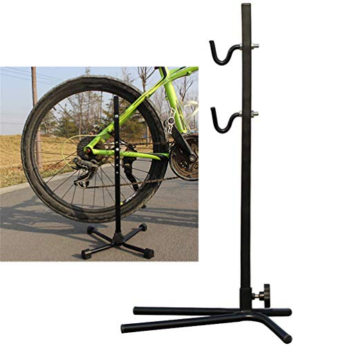 Bike opslag Rack, Vloer Parkeren Stand vouwfiets Repair Rack Universal for weg- en Mountain Bike Onderhoud aan het huis Garage Bicycle Shop Toon Stand dmqpp (Color : B)