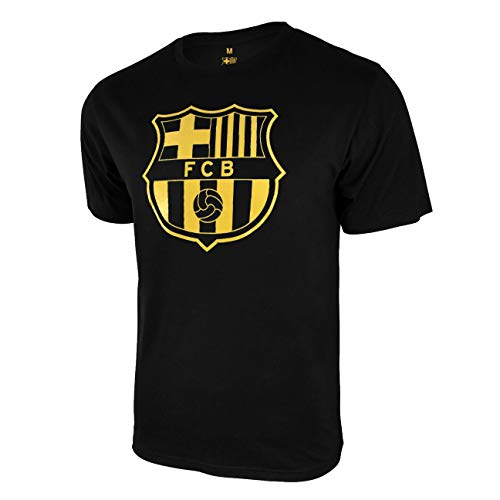 Icon Sports Herren T-Shirt FC Barcelona, offizielles Lizenzprodukt, Baumwolle, Größe S