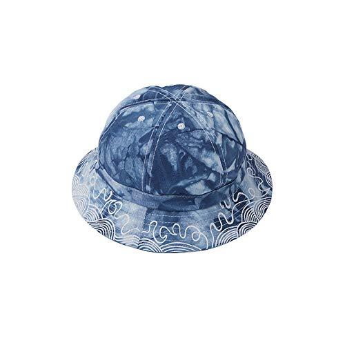 wtnhz Artículos de Moda Sombrero de Pescador teñido con Corbata, Hombres y Mujeres, Moda, Ocio al Aire Libre, sombrilla, Sombrero para el solRegalo de Vacaciones