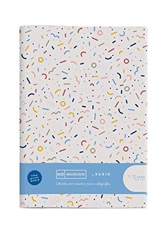 Miquelrius cuaderno con grapa By Rubio A4 Pauta Doble 3 mm 50 hojas