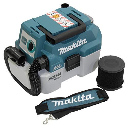 Makita Werkzeug GmbH DVC750LZX3 Staubsauger 18 V (ohne Akku, ohne Ladegerät)