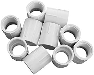Genova Products 30307CP 3/4-Inch Female Iron Pipe Thread PVC Pipe Adapter Slip by Female Iron Pipe Thread - 10 Pack