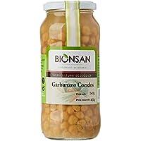 Bionsan Garbanzos Cocidos Ecológicos - 4 Botes de 400 g - Total: 1600 gr.