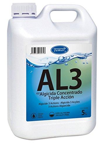 Tamar - Algicida 3 Acciones, Garrafa de 5 Litros.