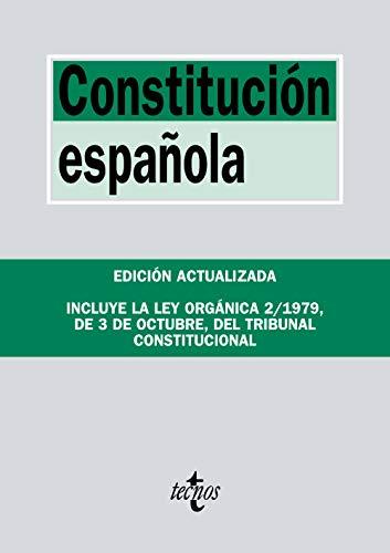 Constitución Española: Incluye la Ley Orgánica del Tribunal Constitucional (Derecho - Biblioteca De Textos Legales)