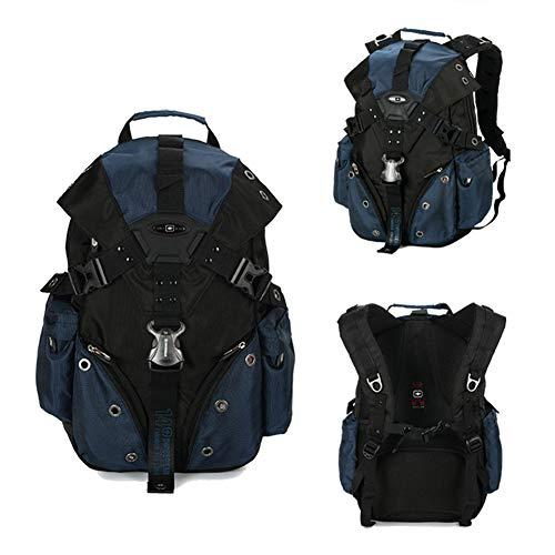 HYwot Business Travel Rucksack, wasserdichter Laptop-Rucksack, Bergwandern im Freien, Schülertaschen, robuster Diebstahlschutz-Rucksack,Blue