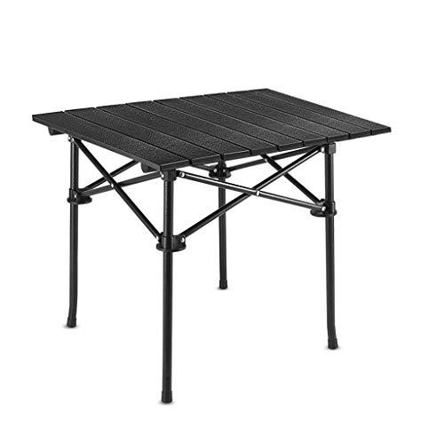 liudan Ultraleichte Aluminiumlegierung Klapptisch Picknick Tisch Camping Grill Camping Tisch (Color : A, Größe : S)