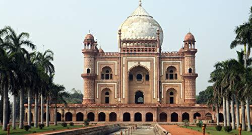 BVCK Los Mejores Lugares para Visitar En Delhi 1000 Piece Wooden Jigsaw Puzzles Classic Rompecabezas De Juguete