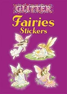 Dover Glitter Fairies Stickers
