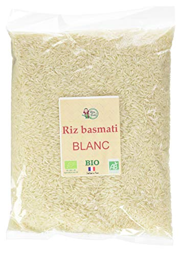 RITA LA BELLE Riz Basmati Blanc BIO, 5 kg