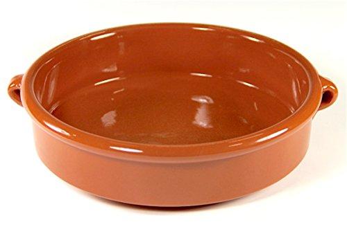 Terra Cotta Cazuela Dish, Round - 9.5 inch / 6 cups