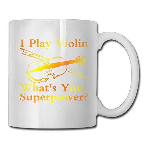 Ik speel viool wat je superpower koffiemok 11 Oz vriend man keramische geschenken thee Cup een perfect cadeau voor uw familie en vrienden