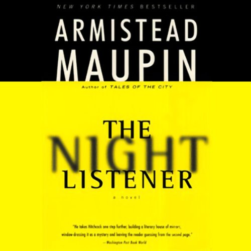 The Night Listener audiobook cover art