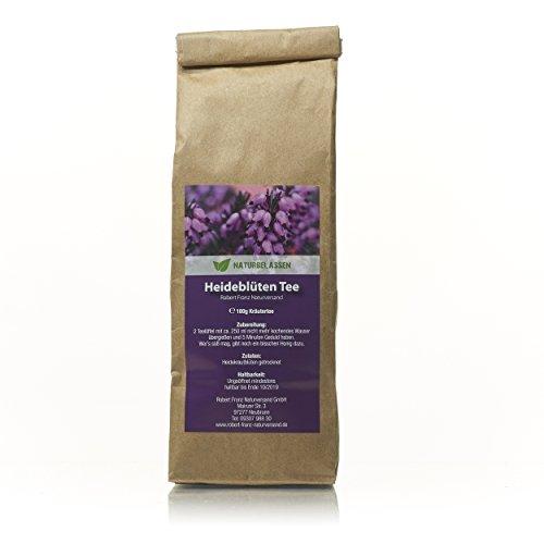 Heideblüten Tee, Erikakraut Kräutertee 100g, Heidekrautblüten getrocknet, unbehandelt und naturbelassen - Robert Franz