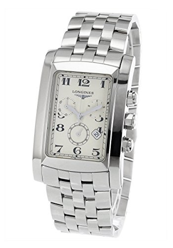 Longines Dolce Vita Silver Dial Stainless Steel Chronograph Mens Watch L56874736
