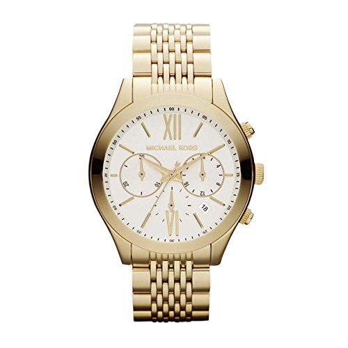 Michael Kors Brookton Chronograph Gold-Tone Stainless Steel Ladies Watch MK5762: Watches
