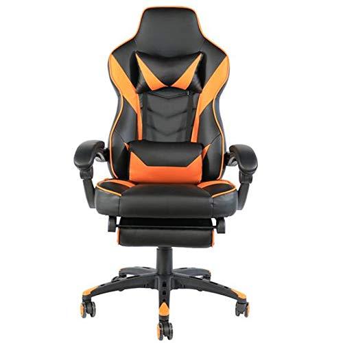 HEEGNPD Verstelbare bureaustoel type C ergonomische high-back faux lederen racen huis slaapkamer computer gaming stoelen leunende stoelen 1