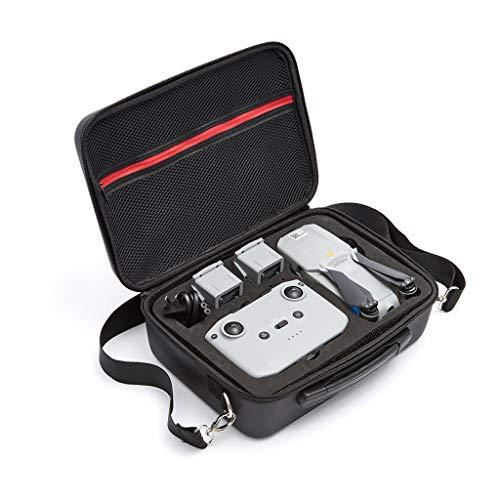 Drohne Handtasche, Tragetasche Kompatibel mit DJI Mavic Air 2 Drone Fernbedienung/Drohnen/Ladegerät/Batterie Drohne Rucksack wasserdichte Tasche Portable Tragekoffer Resistan Box