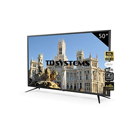 Televisores Smart TV 50 Pulgadas 4K UHD Android 9.0