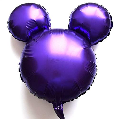 SauParty Non Elio Palloncino! Topolino Palloncini Testa Disney Minnie Nascita Bambino Festa - Variopinto