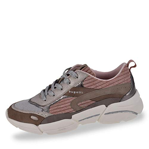 bugatti Damen 432668015959 Sneaker, Beige (Beige/Rose 5234), 40 EU