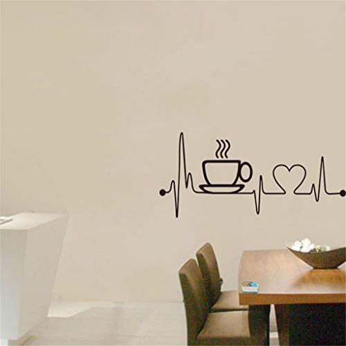 Sticker Mural Art Stickers Art Salon Cuisine Restaurant Vinyle DéCoration Couteau Et Fourchette DIY Wall Mural Famille Accueil Autocollant Design Mur Maison Stickers Cuisine Décor Papiers WINJIN