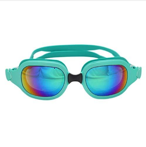 MXH Earspine Siamesi Vergulde zwembril Badbril voor volwassenen zwempak HD anti-condens, zwemuitrusting verstelbaar