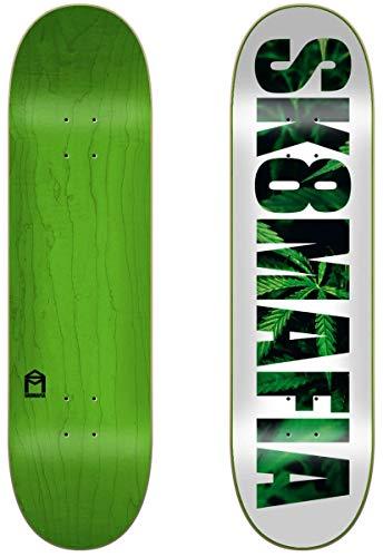 Sk8mafia Leaves 8.0'x32' Deck, Skateboard. Unisex-Adulto, Multicolore (Multicolore), 8,0' x 31,28'