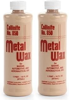 Collinite Metal Wax 1 Pint 850 2 Pack