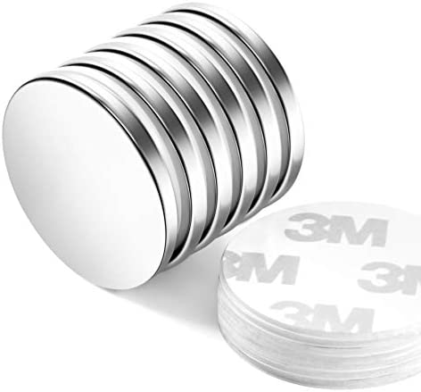 Neosmuk NSY3235 Magnets D32mm Strong Rare Earth Adhesive Neodymium Disc Shaped Magnet with Round product image