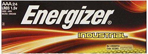Energizer Industrial AAA Alkaline Batteries 24 per Box EN92