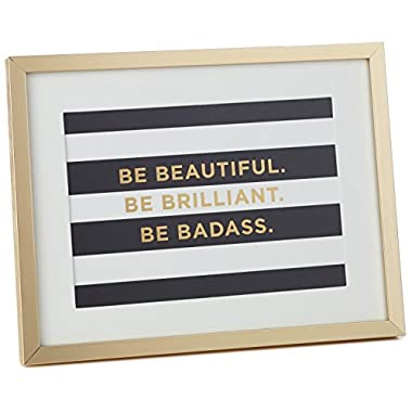 Be Beautiful Framed Print Art