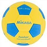 ミカサ(MIKASA) スマイルサッカー 3号(小学生用) 約150g 黄/青 貼りボール SF3J-YBL