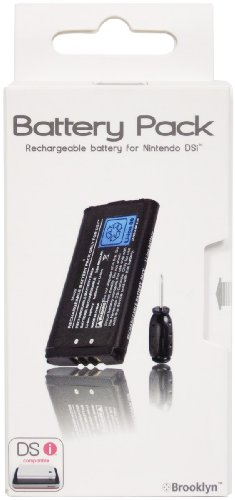 Vidis Brooklyn Battery Pack - Pila recargable (Litio-Ion, 650 mAh, Nintendo DSi,...