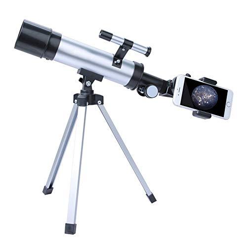 DKEE Binoculars Kinder Teleskop/Astronomisches Teleskop Sucher Nehmen Sie Fotos Auf Ihrem Telefon 18 Mal / 90-mal,