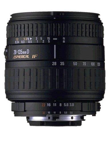 Sigma 28-135/3,8-5,6 aspherical IF Macro Objektiv für Minolta/Sony
