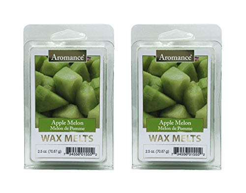 Aromance Apple Melon Scented Wax Melts 2PK