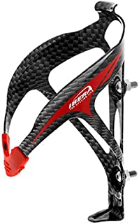 Ibera Extra Lightweight Alloy Bottle Cage, 29gm, Carbon Pattern