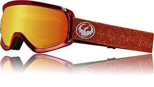 Dragon D3 OTG Laberinto Lumalens Ion Red Rose + Lumalens 33851-700 Gafas de Nieve