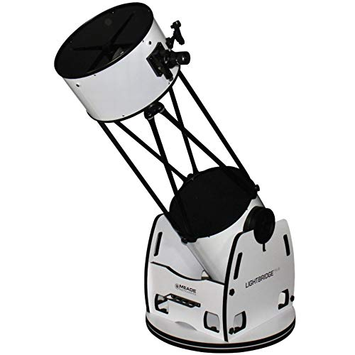 Meade Telescopio Dobson N 406/1829 16'' LightBridge Deluxe, tubo a traliccio
