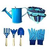 KKmoon Conjunto de bolsa de pano infantil Bolsa de ferramentas de jardinagem infantil Kit de ferramentas de interação segura entre pais e filhos